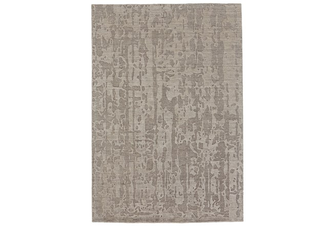 114X162 Rug-Taupe Faux Bois Watermark - 360