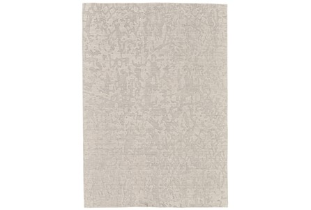 93X117 Rug-Ivory Crackle Watermark