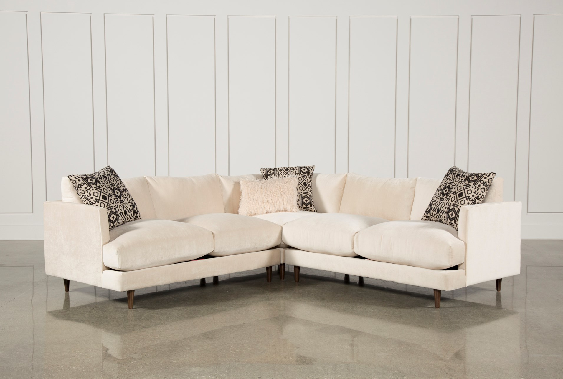 Adeline 3 piece sectional qty 1 has been successfully added to your cart