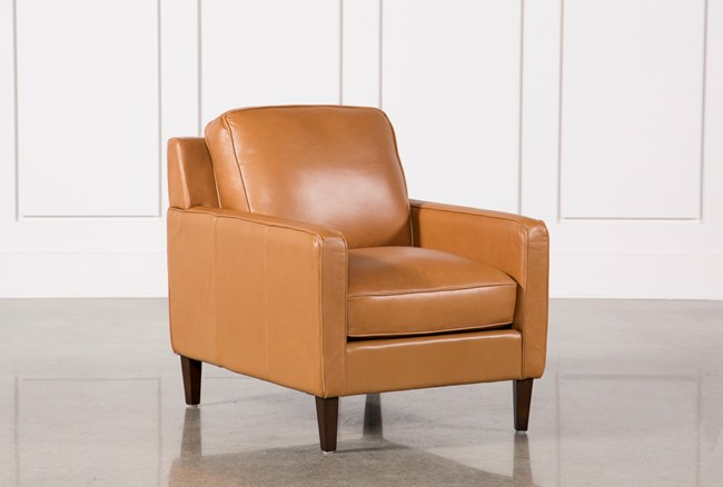 Candace Leather Chair - 360