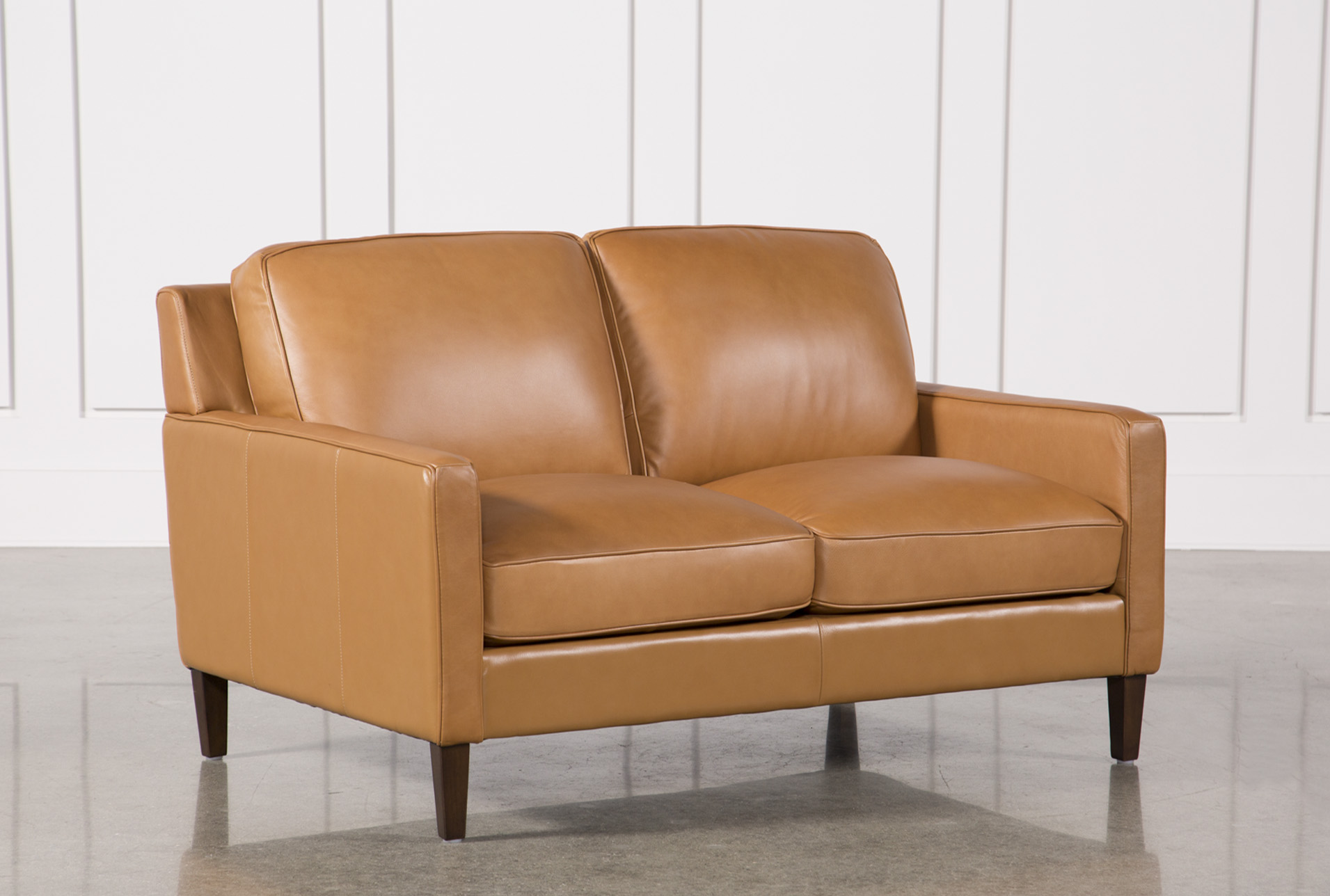 Candace Leather Loveseat (Qty: 1) Has Been Successfully Added To Your Cart.