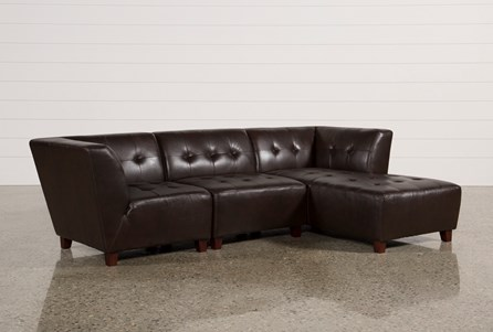 Maxine 3 Piece Sectional W/Raf Chaise