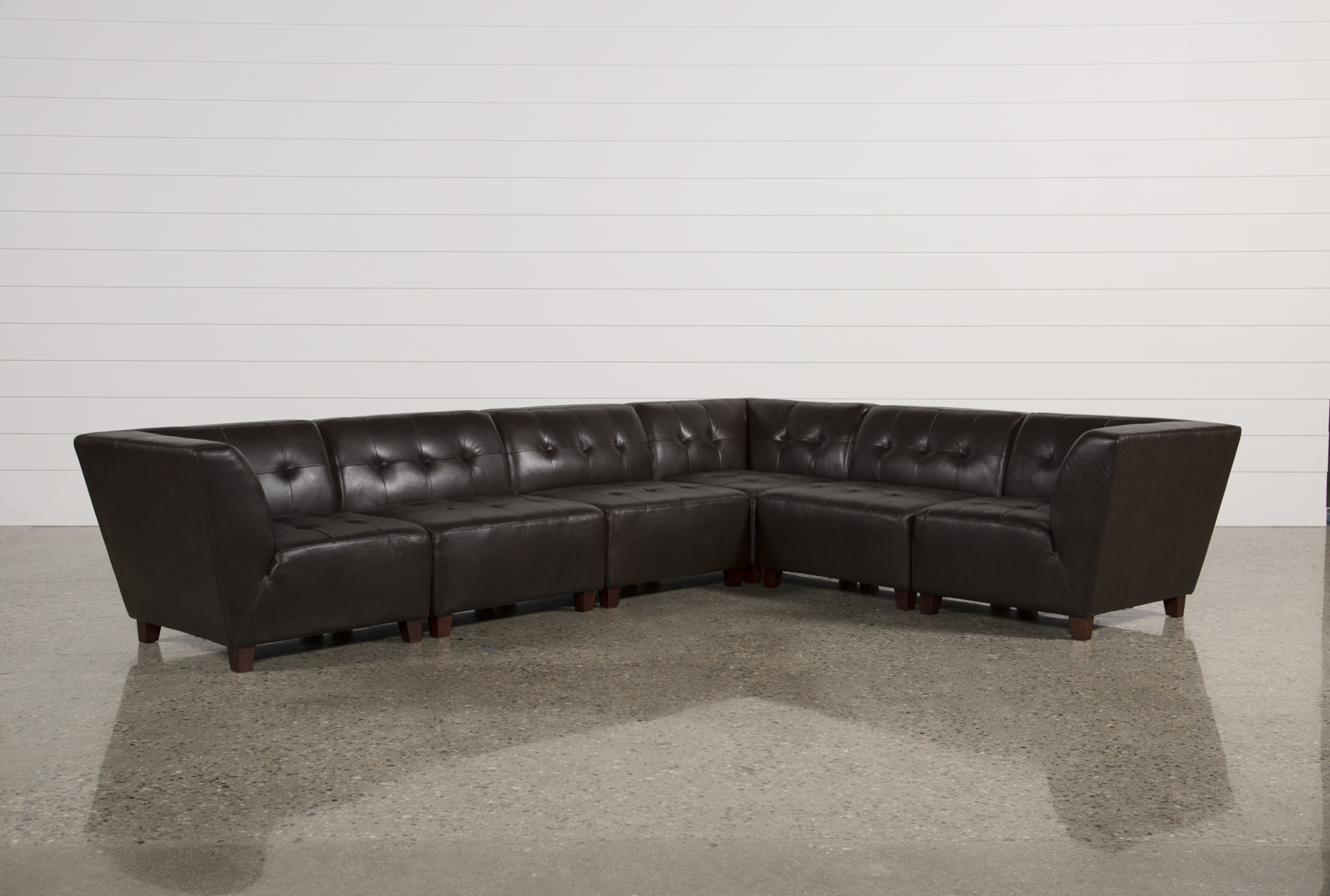 Maxine 6 Piece Sectional   360