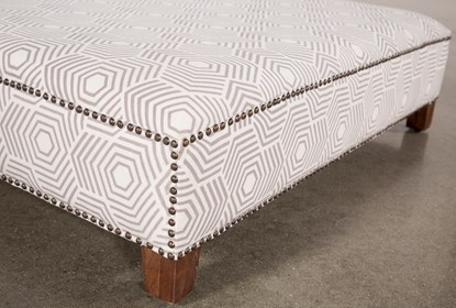 Awesome Beige Print Square Ottoman Alphanode Cool Chair Designs And Ideas Alphanodeonline