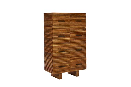 Corrugated Natural 8-Drawer  Chest - Main