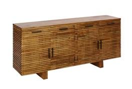 Corrugated Natural 4-Drawer Sideboard