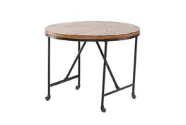 Wheeled Round Table