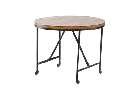 Wheeled Round Table - Main