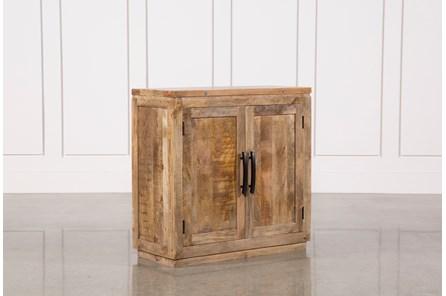 Natural Mango Wood Finish Cabinet - Main