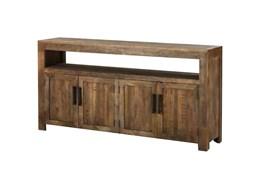 Vintage Finish Rustic Sideboard