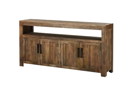 Vintage Finish Rustic Sideboard