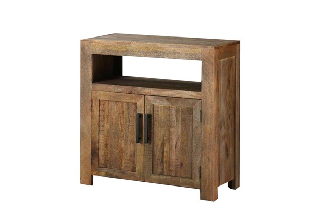 Vintage Finish Rustic Chest - 360