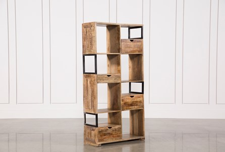 Cubic 4-Drawer 8-Hole Display