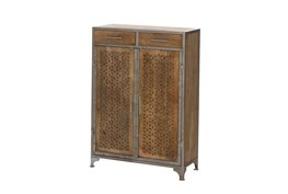 Mango Wood Finish Cabinet