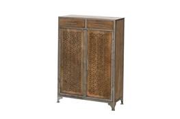 Mango Wood Finish Cabinet