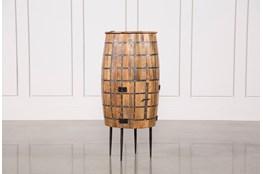 Round Barrel Tank Cabinet