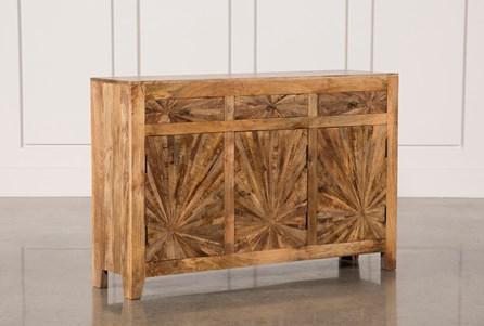 Mango Wood Pinwheel Sideboard