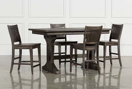 Valencia 5 Piece Counter Set W/Counter Stool