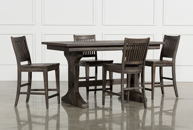 Valencia 5 Piece Counter Set W/Counterstool - 360