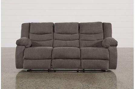 Tulen Gray Reclining Sofa - Main