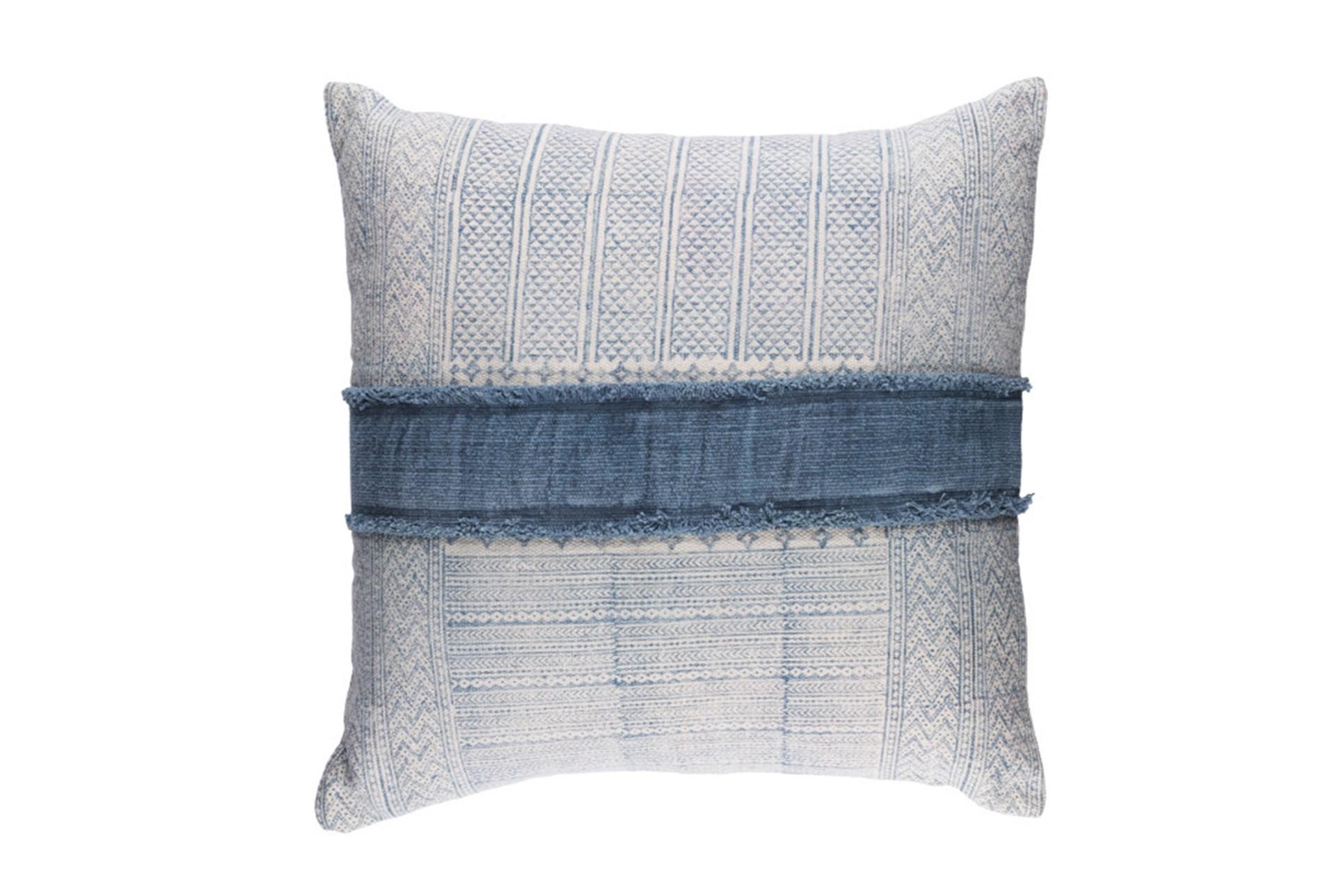 Floor Pillow Insert 30 X 30 : Floor Pillow-Borough Indigo Distressed 30X30 Living Spaces