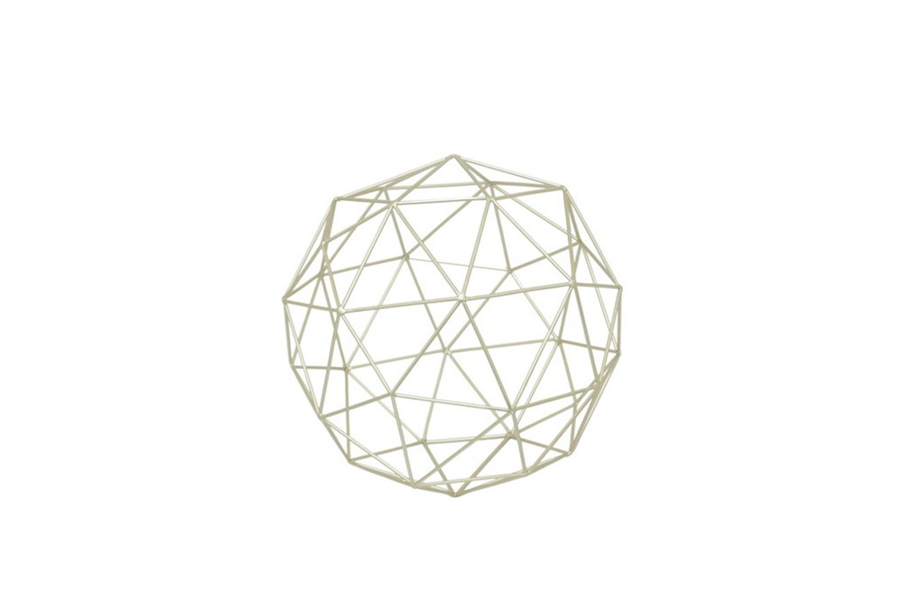 Light Metal Orb Small