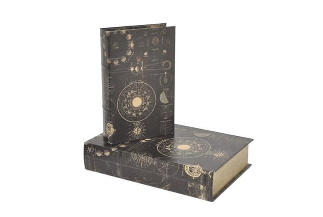 2 Piece Set Galaxy Book Boxes - 360