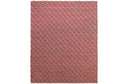 8'x11' Rug-Rico Red Diamonds