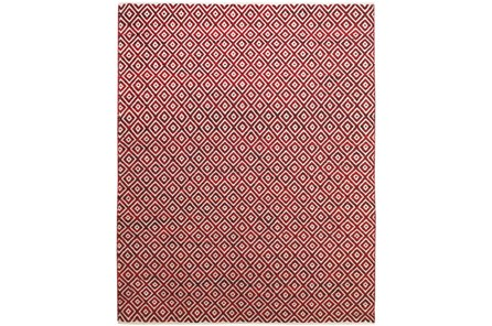 96X132 Rug-Rico Red Diamonds