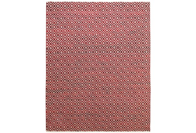 96X132 Rug-Rico Red Diamonds - 360