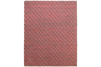 5'x8' Rug-Rico Red Diamonds