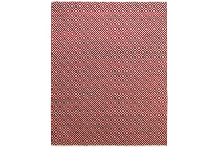 60X96 Rug-Rico Red Diamonds