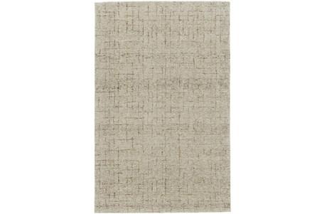 96X132 Rug-Oatmeal Stitching