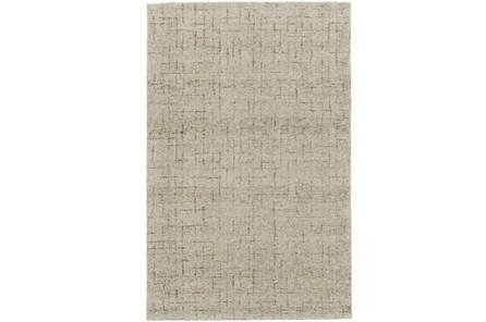 114X162 Rug-Oatmeal Stitching - Main