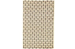 "7'8""x9'8"" Rug-Violet Geometric Hand Knotted Jute"