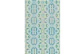 """7'8""""x9'8"""" Rug-Aqua And Green Hand Knotted Global Pattern"""