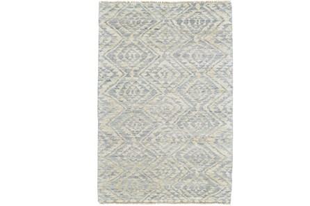 48X72 Rug-Mist Blue Ganando Pattern - Main