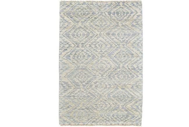 114X162 Rug-Mist Blue Ganando Pattern - 360
