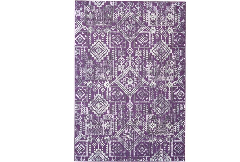 96X132 Rug-Violet Turkish Pattern