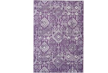 8'x11' Rug-Violet Turkish Pattern