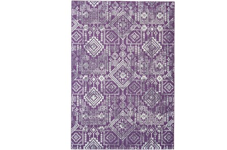 96X132 Rug-Violet Turkish Pattern