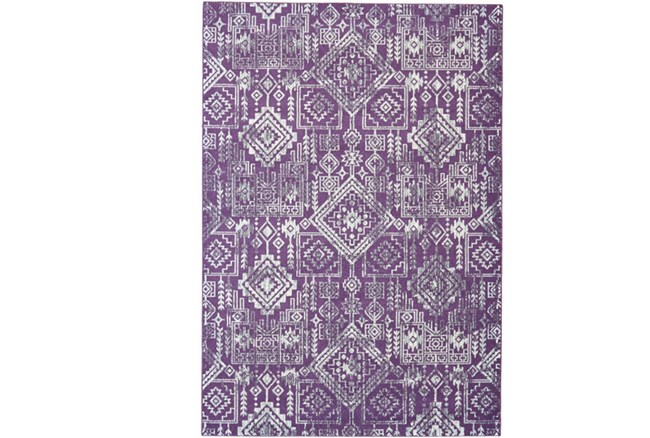 96X132 Rug-Violet Turkish Pattern - 360