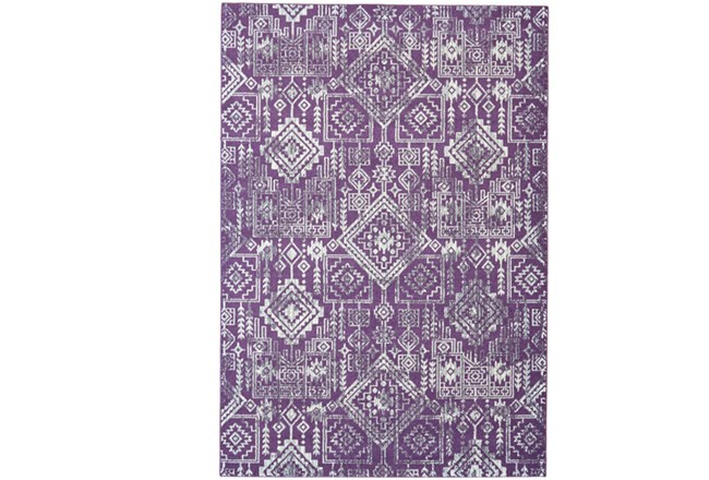 96X132 Rug-Violet Turkish Pattern - 360