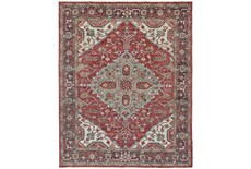 2'x3' Rug-H& Knotted Saturated Red & Charcoal Traditional
