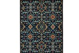 48X72 Rug-Hand Knotted Saturated Blue Traditonal - Signature