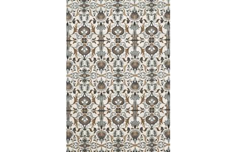 26X48 Rug-Granite Deco Floral