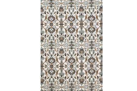 26X48 Rug-Granite Deco Floral - Main