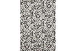 5'x8' Rug-Charcoal And Pewter Zig Zag
