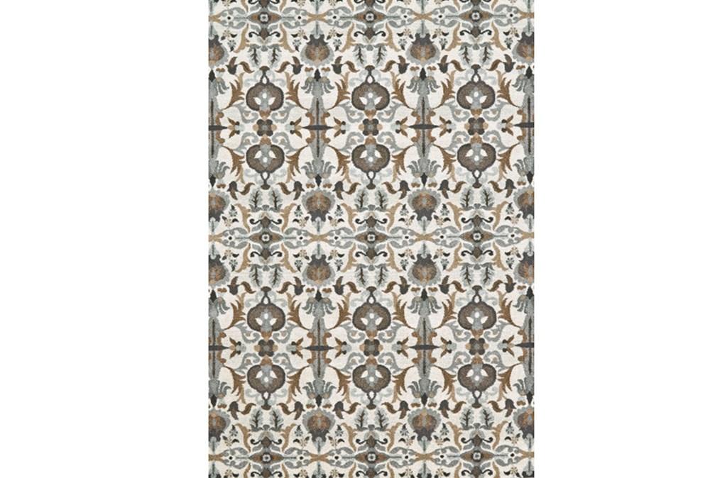 96X132 Rug-Granite Deco Floral