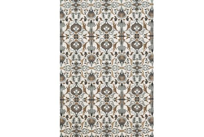 96X132 Rug-Granite Deco Floral - 360